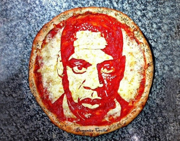 Domenico Crolla's Pizza Portraits