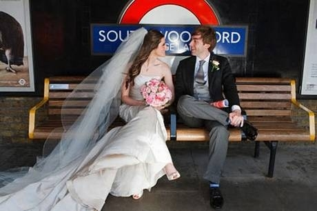 The Londoner who popped the question on the Underground