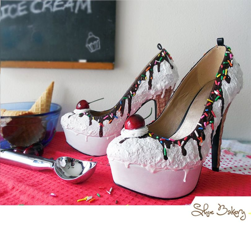 Vanilla Ice Cream Heels