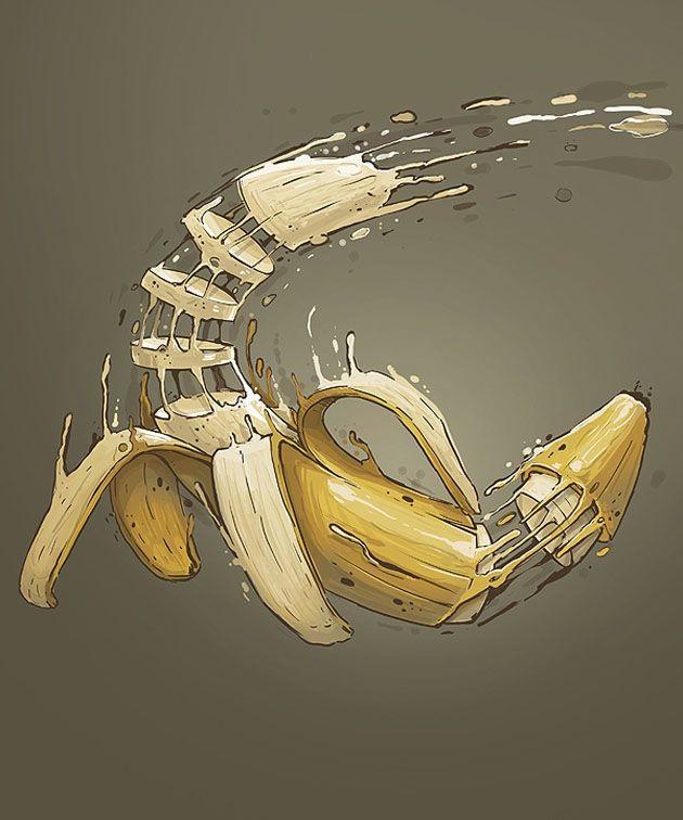 Vitamin Bomb Drawings by Georgi Dimitrov