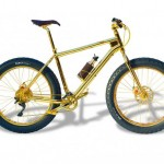 The World's Most Expensive Mountain Bike Made out of 24k Gold by The House of Solid Gold