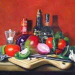 Realistic Paintings of Karen Budan Will Make your Head Spin