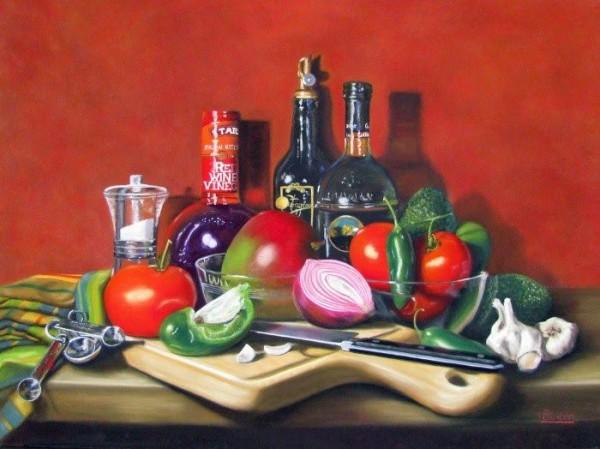 Realistic Paintings of Karen Budan