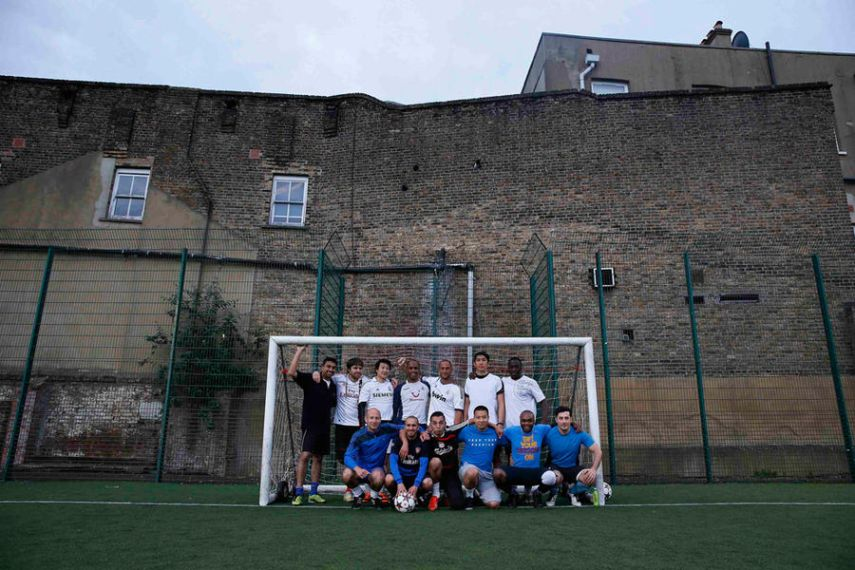 Balham, UK. June 3, 2014