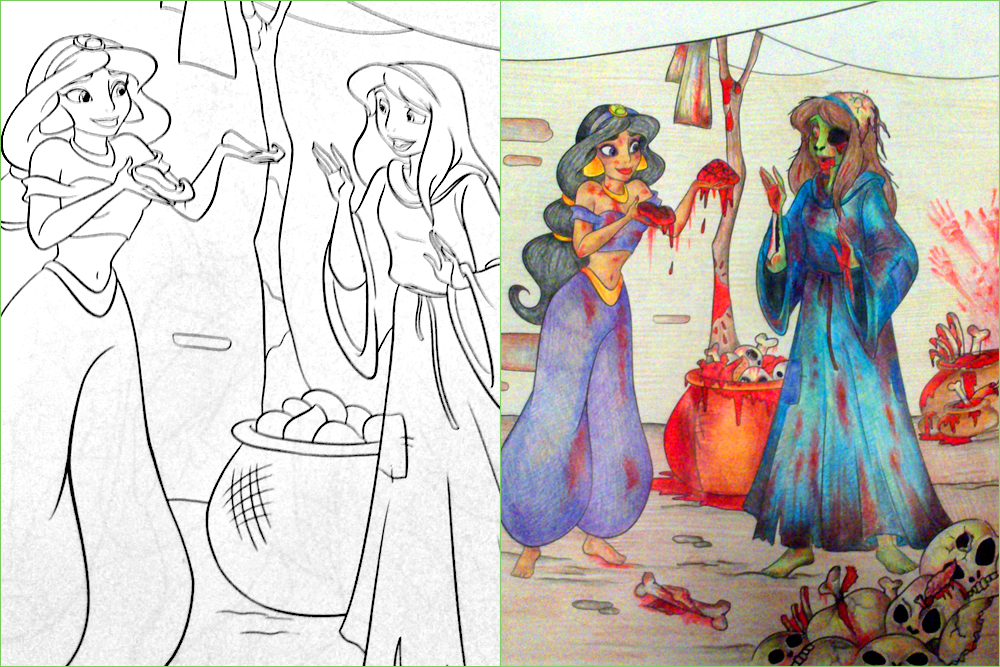 28 Awful Corruptions In Coloring Books That Will Give Your ...