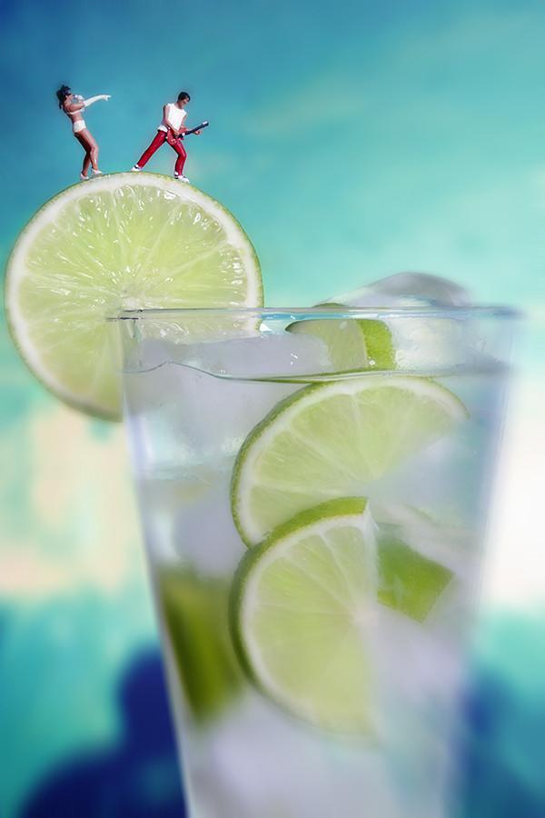 Lemon Rock Drink