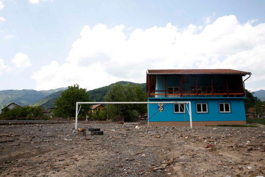 Nemila, Bosnia and Herzegovina, after the flood. June 3, 2014
