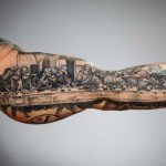 "The Most Striking Examples of Tattoos from ""Tattoo Mania Expo"""
