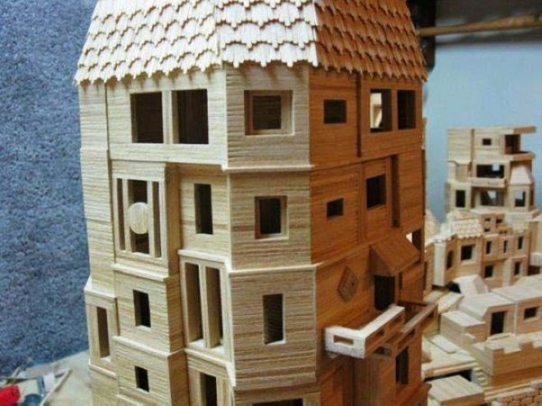 Mind Blowing Toothpick Sculptures by Bob Morehead