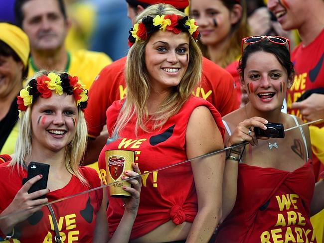 Belgium Foot Ball Fans