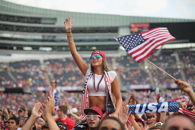 Best Female Soccer Fan From USA