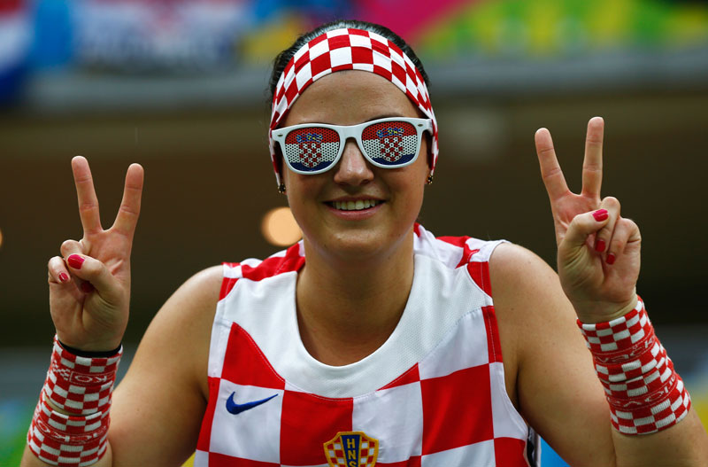 33 Of The Most Beautiful Female Fans From 2014 FIFA World ... |Croatia Soccer Fans