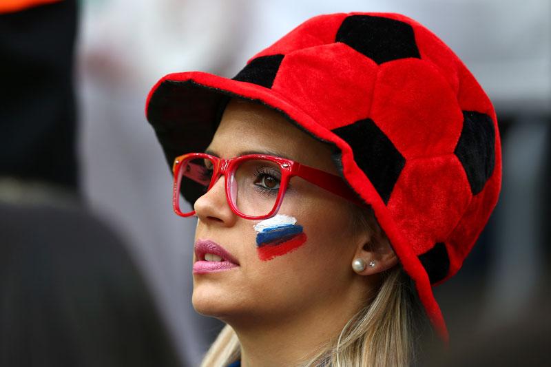 Cutest Russian Soccer Fan