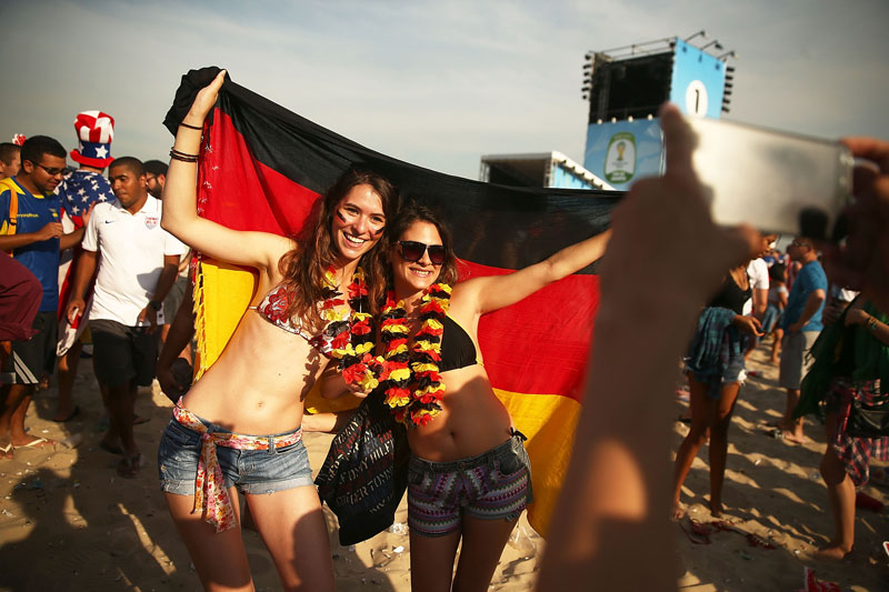German Women Fans Are Most Sexy Soccer Fans