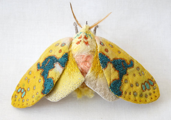 Large yellow tiger moth