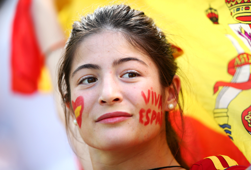 Most Beautiful Spanish Soccer Fan Ever