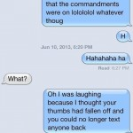 15 Hilarious Things People Write When Someone Doesn't Text Back