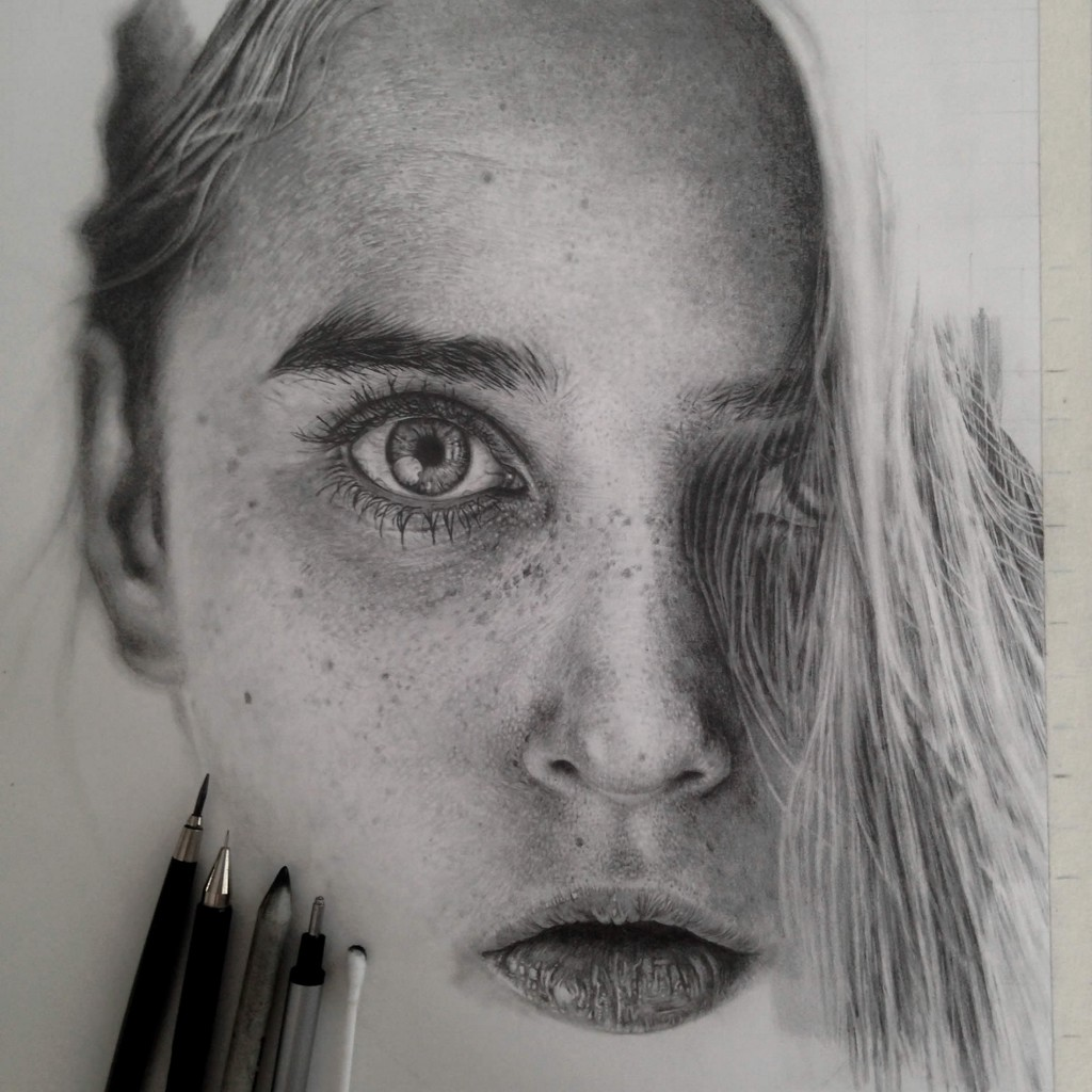 Realistic Graphite Drawings-01