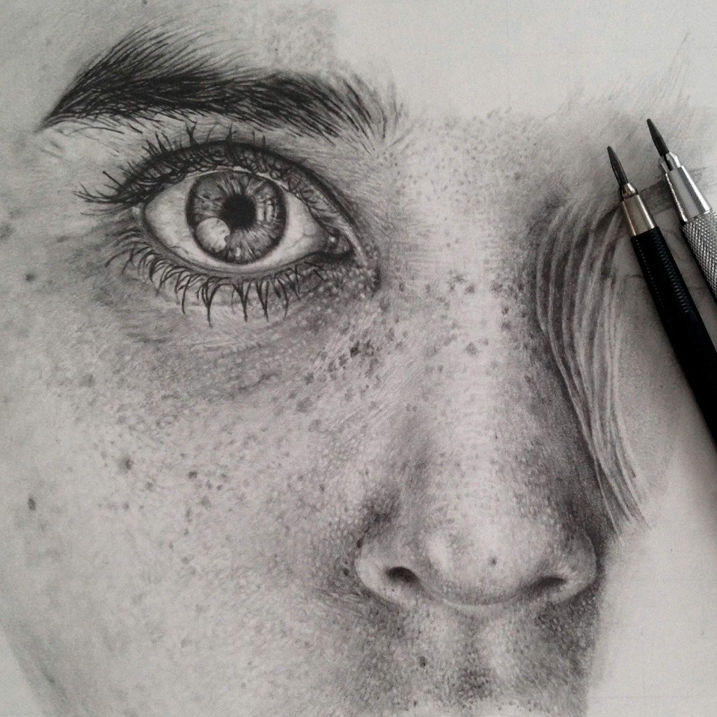 Realistic Graphite Drawings-02