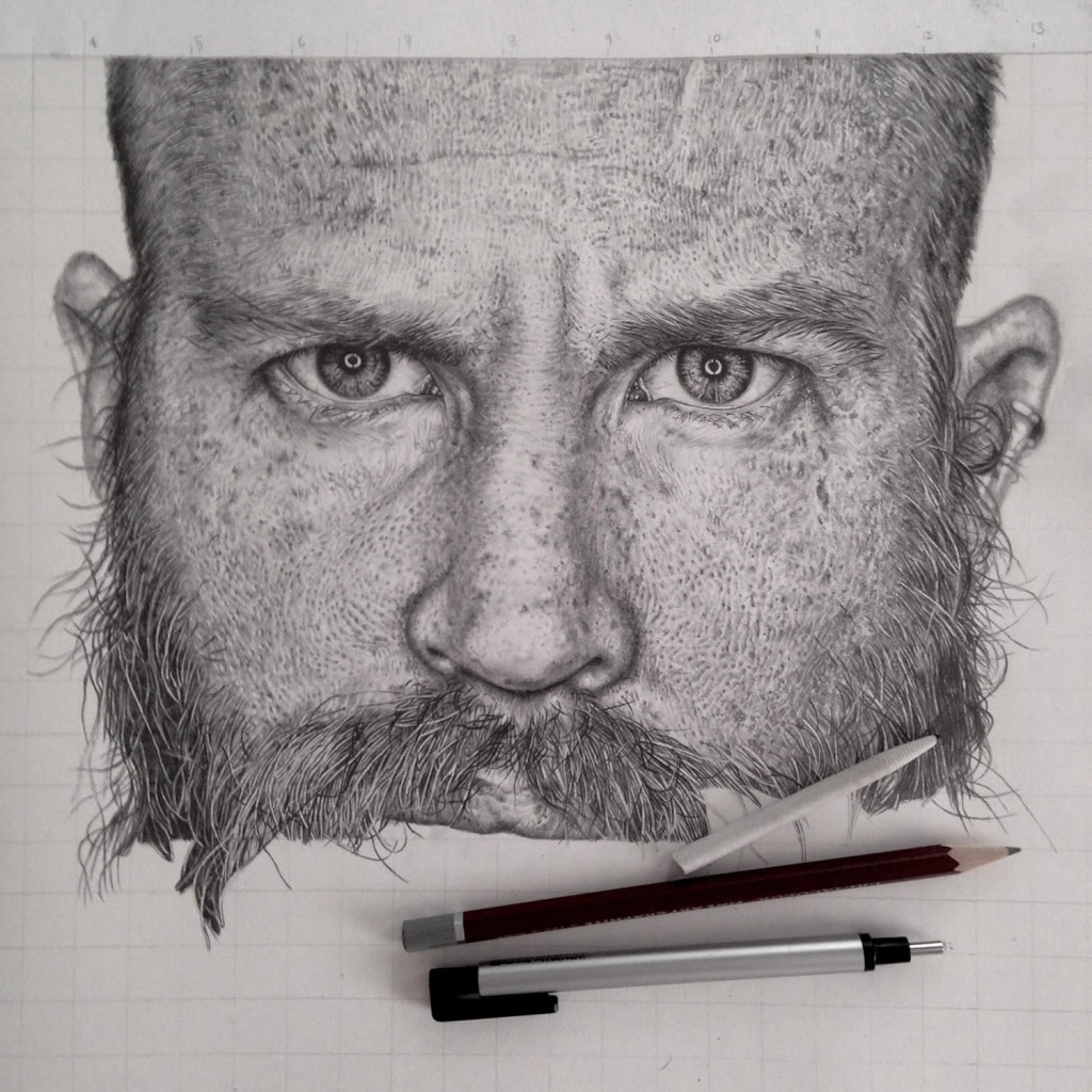 Realistic Graphite Drawings-03