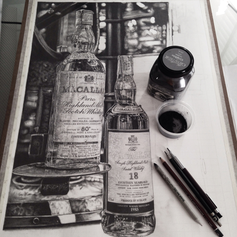 Realistic Graphite Drawings-05