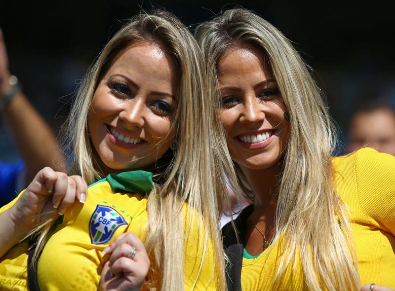 Sexy Brazil Fans
