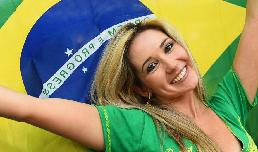 Sexy Brazilian Soccer Fan