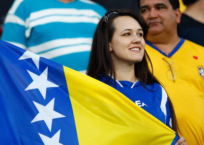 Sexy Fan From BOSNIA-HERZEGOVINA