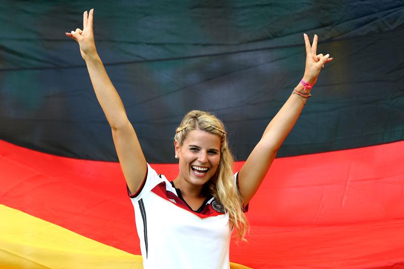 Sexy German Soccer Fan