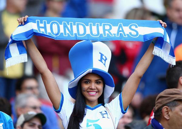 Sexy HONDURAS Soccer Fan