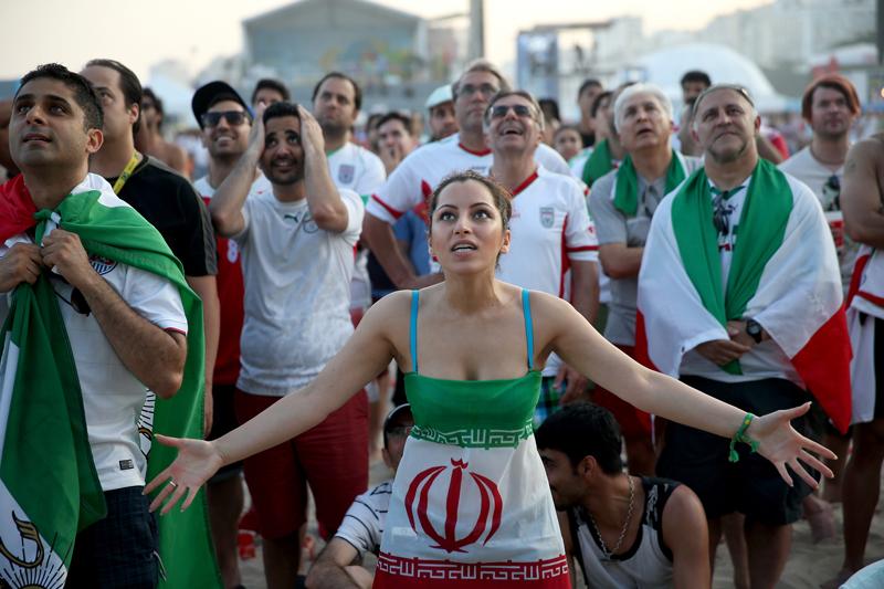 Sexy Iranian Soccer Fan