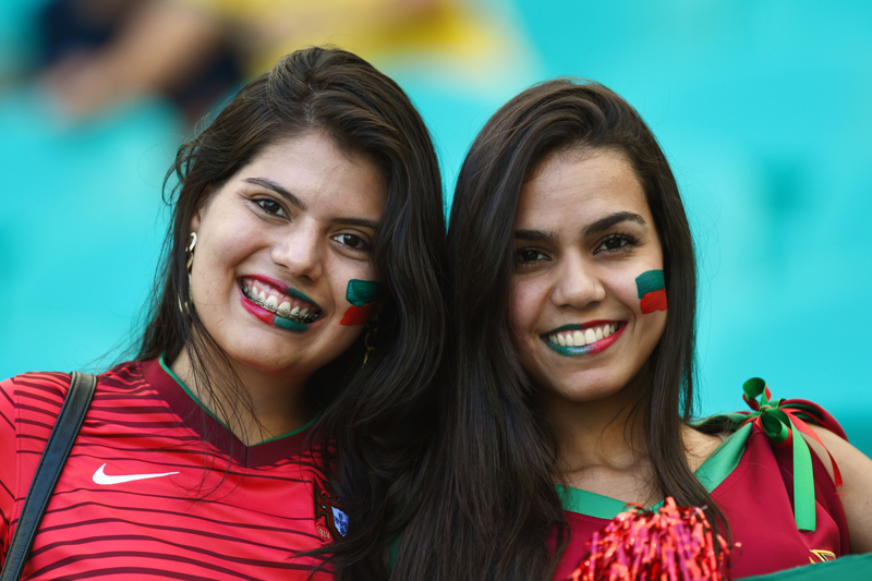 Sexy Portuguese Soccer Fans