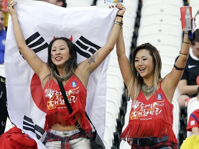 Sexy South Korean Fans