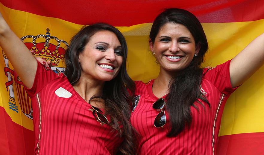 Sexy Spanish Soccer Fan