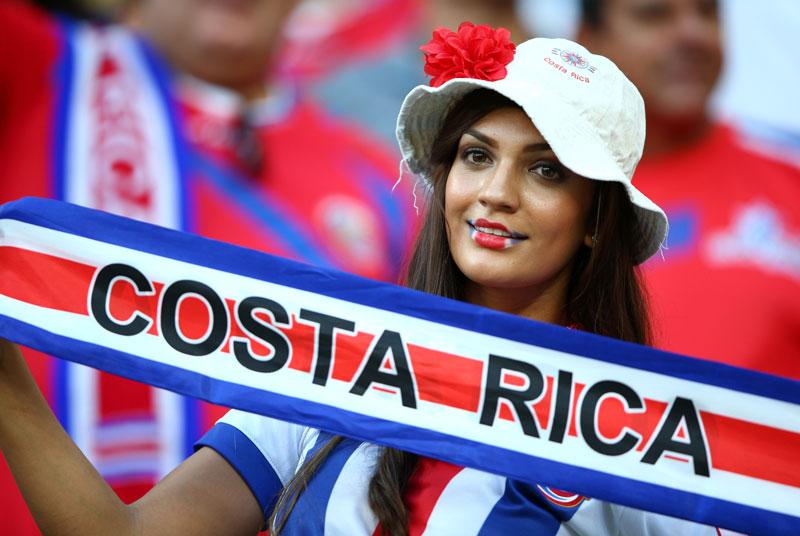 Sexy Women Representing Costa Rica