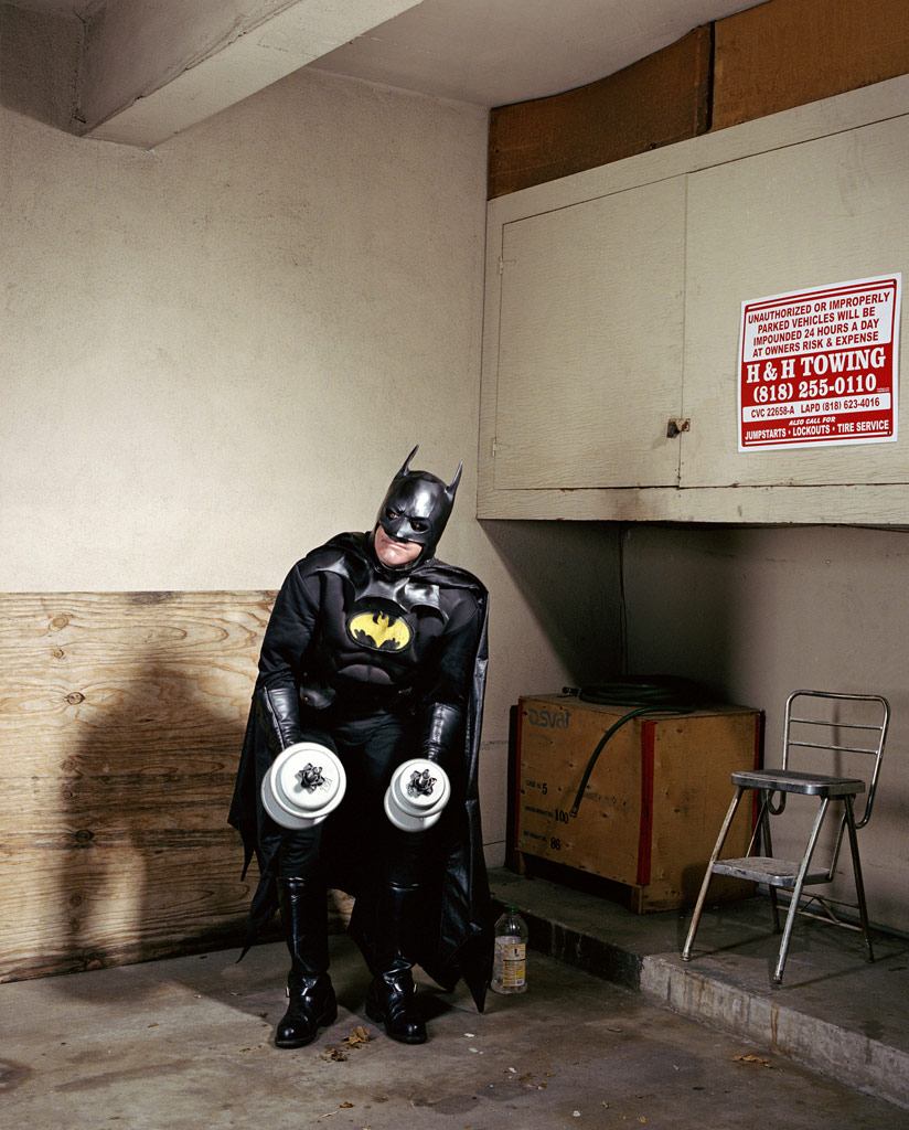 Batman at home