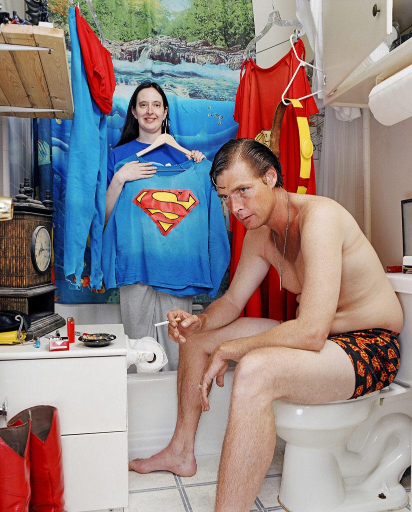 Superman at Home
