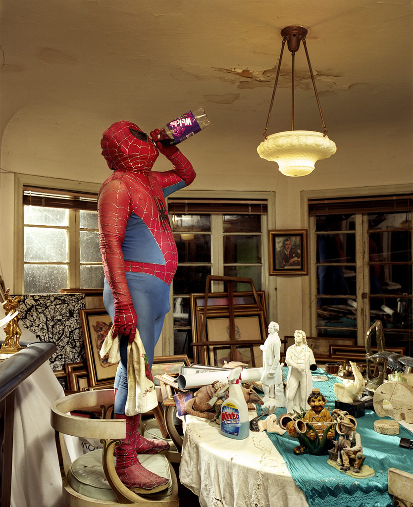 Spiderman at home
