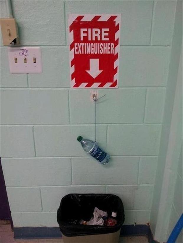 The expert fireman