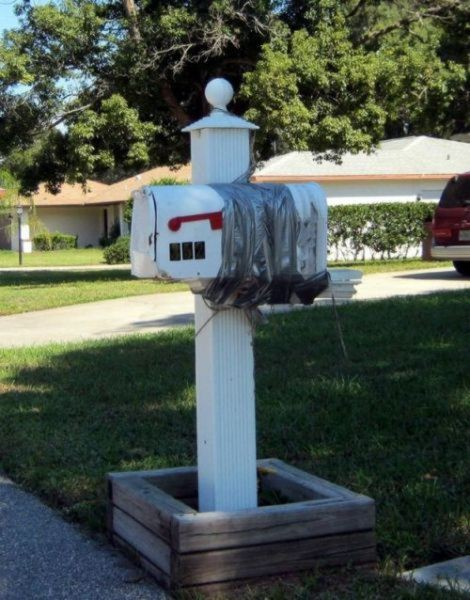 The homeowner who didn't want to buy a new mailbox
