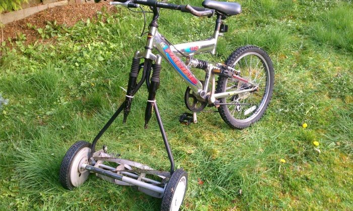 This guy who just invented the adult tricycle