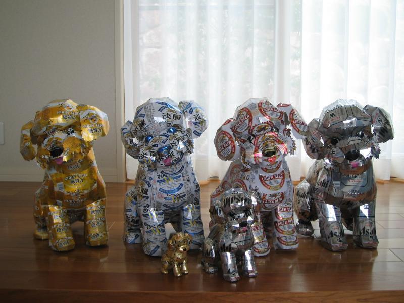 Aluminum Sculptures-12