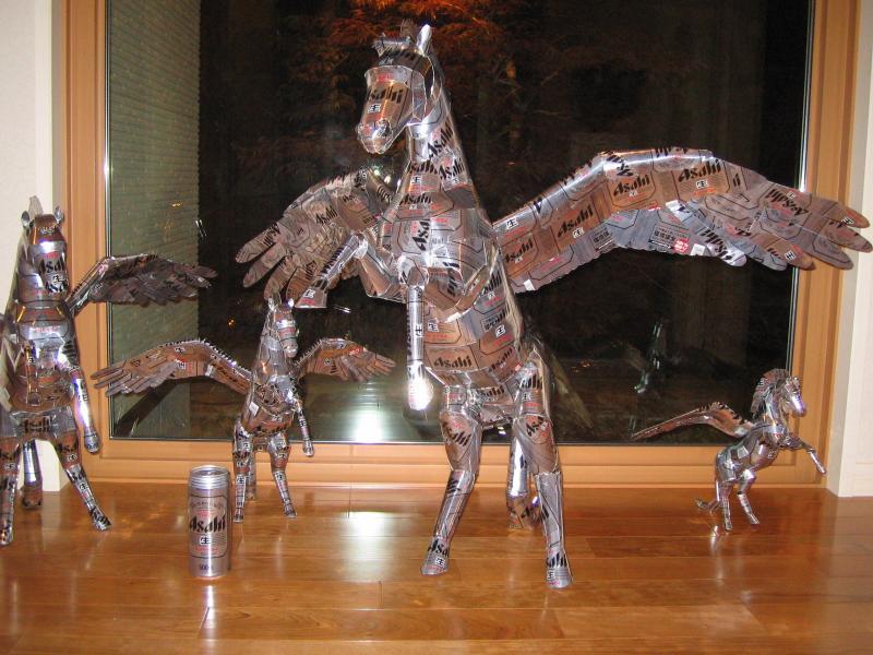 Aluminum Sculptures-15