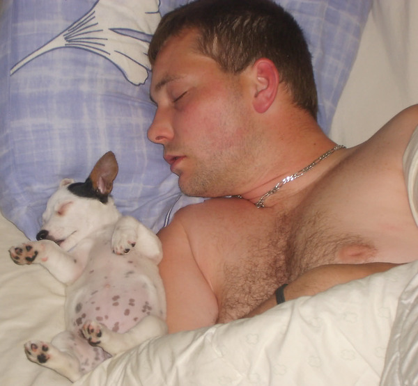 30 people sleeping with dogs and its the most adorable thing you