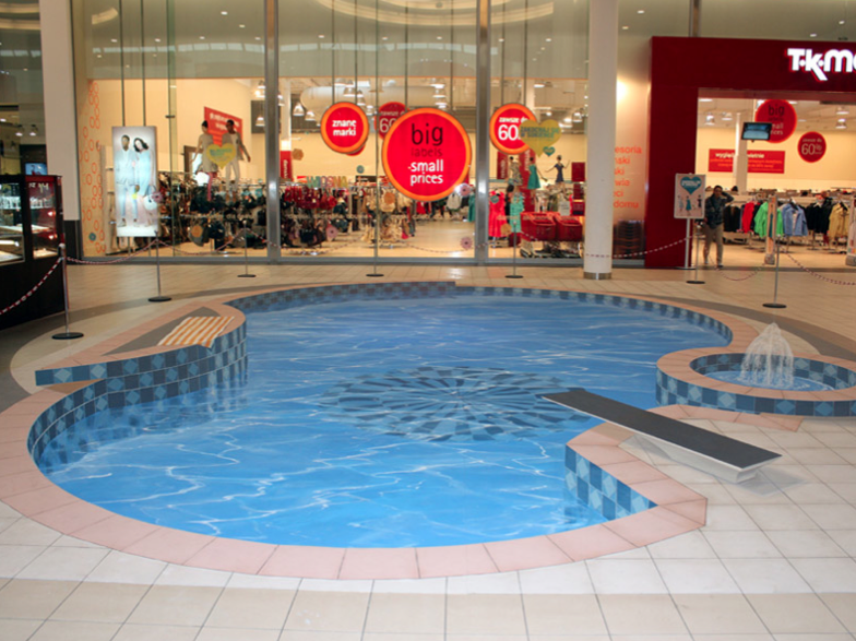 A swimming pool you just want to dive into.