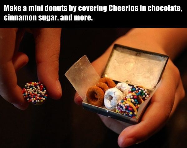 Awesome mini donuts