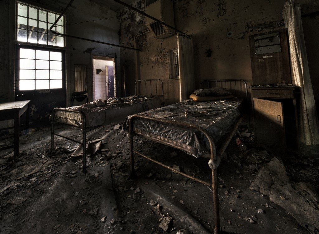 Cane Hill Lunatic Asylum, London