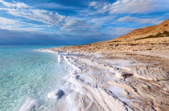 Dead Sea, Israel, Jordan & Palestine