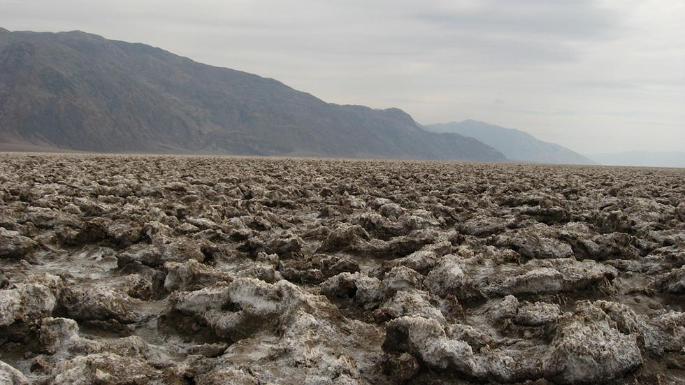 Devil's Golf Course, Death Valley, California