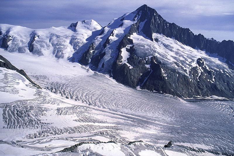 Glaciers of the European Alps, Switzerland